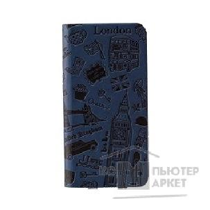 Чехол Ozaki O!coat Travel leather folio case with pocket for iPhone 6 Plus. London OC585LD