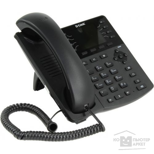 Интернет-телефония D-Link DPH-150SE/ F3A/ F4A/ F4B SIP VoIP Phone with PoE Support, Russian menu, Internet Radio, P2P connections, 2 10/ 100BASE-TX Fast Ethernet, hands-free and extension module support