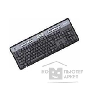 Клавиатура A-4Tech Keyboard A4Tech KLS-50, PS/ 2 чёрная Slim, 14 доп. клавиш