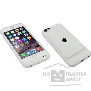 Аксессуар Apple Smart Battery Case iPhone 6/ 6s White [MGQM2ZM/ A]