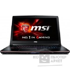 "Ноутбук MicroStar MSI GE72 2QF-099RU, 17.3"", Intel Core i7 5700HQ, 2.7ГГц, 16Гб, 1000Гб, 128Гб SSD, nVidia GeForce GTX 970M - 3072 Мб, DVD-RW, Windows 8.1, черный [9s7-179111-099]"