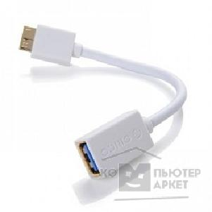 ������ Orico  COR3-15-WH ������ USB3.0 A female to Micro USB3.0 15cm COR3-15 �����