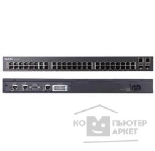 Сетевое оборудование ZyXEL ES-3148 48-port Managed Layer 2+ Fast Ethernet Switch with 4 Gigabit ports and 2 shared SFP slots