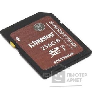 Карта памяти  Kingston SecureDigital 256Gb  SDA3/ 256GB