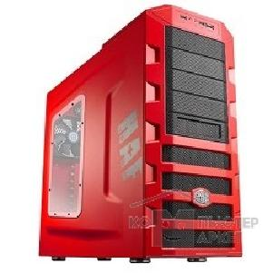 Корпус Cooler Master MidiTower  HAF 922 [RC-922M-RWN2-GP] Red/ Red noPSU