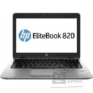 "Ноутбук Hp EliteBook 820 G2 12.5"" 1366x768 матовый / Intel Core i5 5300U 2.3Ghz / 8192Mb/ 256SSDGb/ noDVD/ Int:Intel HD5500/ Cam/ BT/ WiFi/ war 3y/ 1.33kg/ silver/ black metal/ W7Pro + W8Pro key + NFC"