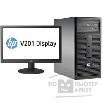 Компьютер Hp 280 G1 Bundle [L9T69ES] MT G1840/ 2GB/ 500GB/ DVDRW/ DOS/ k+m + V201