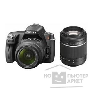 �������� ���������� Sony Alpha DSLR-A290Y Kit black 18-55/ 55-200mm