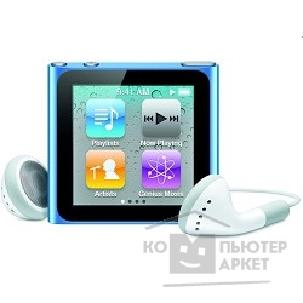 APPLE гаджет MP3 Apple iPod nano 6 8GB - blue MC689QB/ A