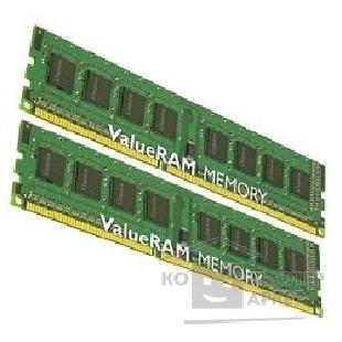 Модуль памяти Kingston DDR-III 8GB PC3-10600 1333MHz Kit 2 x 4GB  [KVR1333D3N9K2/ 8G]