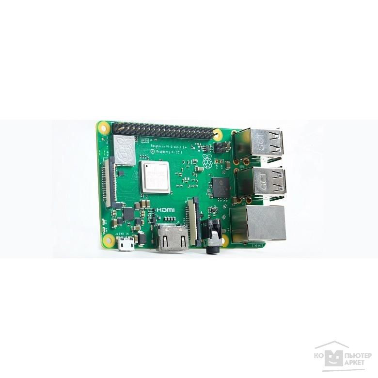 Микрокомпьютер Raspberry Pi 3 model B+ (43541)/RASPBERRY PI PI 3 Model B+ Raspberry Pi 3 model B+