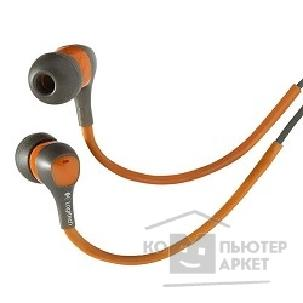 Наушники Logitech 985-000134  Ultimate Ears™ 300 Noise-Isolating Earphones сер/ оранж