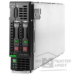 Hp Сервер  ProLiant BL460c Gen9 E5-2609v3 1P 16GB-R H244br Entry Server 727026-B21
