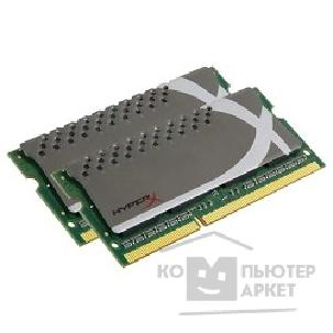 Модуль памяти Kingston DDR3-1600 16GB Kit 2 x 8Gb SO-DIMM [KHX16S9P1K2/ 16] CL9 HyperX