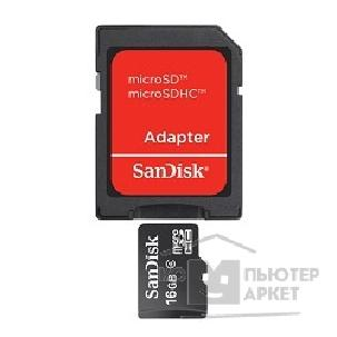 Карта памяти  SanDisk Micro SecureDigital 16Gb  SDSDQM-016G-B35A