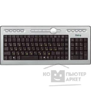 Клавиатура Dialog KF-1SP, Favourite Keyboard, PS/ 2, Silver