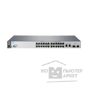 Сетевое оборудование Hp J9782A  2530-24 Switch Managed, L2, 24*10/ 100 + 2*10/ 100/ 1000 + 2*SFP, Fanless design, Rackmount 19""