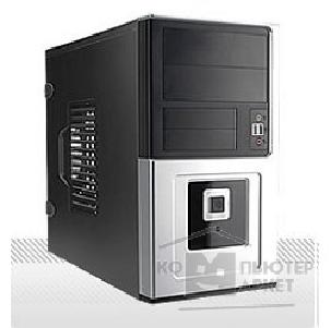 ������ Inwin Mini Tower  EM-016BS Black 450W 12V 2*USB+AirDuct+Audio mATX [6032048]