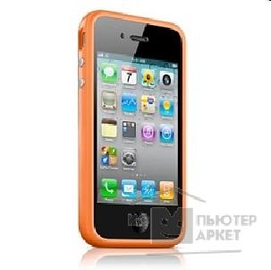 Apple Чехол-бампер  iPhone 4s Bumper orange MC672ZM/ B