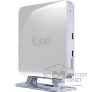 Компьютер 3Q Nettop Qoo! White/ Atom D2560/ 2.00 GHz/ NM10/ Wi-Fi/ HDMI/ D-SUB/ Card Reader/ Vesa Mount/ 4GB/ 1000GB/ MeeGo [68981]