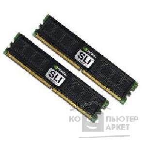 Модуль памяти Ocz DDR-II 2GB PC2-6400 800MHz Kit 2 x 1GB [2N800SR2GK] SLI Ready Dual CH