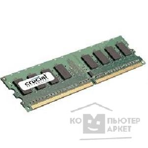 Модуль памяти Crucial DDR2 DIMM 1GB CT12864AA800