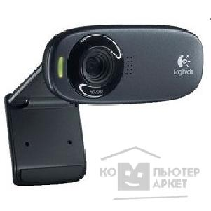 Цифровая камера Logitech 960-000638/ 960-001065  HD Webcam C310, USB 2.0, 1280*720, 5Mpix foto, Mic, Black