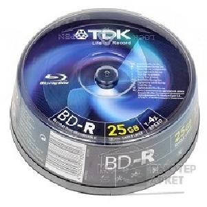 Диск Tdk Диск Blu-Ray 25Gb 4x Cake Box 25шт  t78301