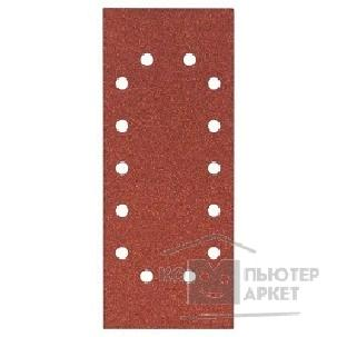 Bosch Bosch 2608605241 10 шлифлистов 115Х280 К80 Best for Wood+Paint 14 отв.