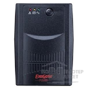 EXEGATE  ИБП Power EP212511RUS  Back NNB-400 <400VA, Black, 2 евророзетки>