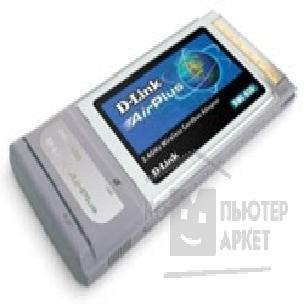 ������� ������������ D-Link DWL-650+ PCMCIA 22M Wireless Adapter AirPlus