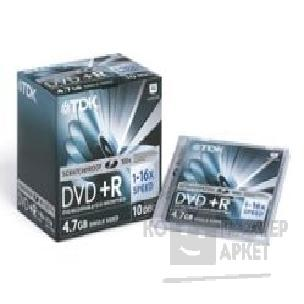 ���� Mirex DVD+R 8x, 4.7 Gb, TDK  Slim Case, 5 ��.