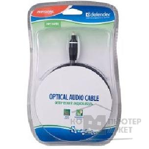 Кабель Defender Аудиокабель PROFESSIONAL OPTICAL AV CablePRO Optical, 1.5m, BL [OPT-05PRO]