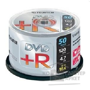 Диск Fuji 47593 Диски DVD+R film 4.7Gb, 16x, Cake Box 50шт.