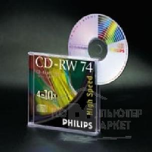 Диск Philips CD-RW Disk  650Mb