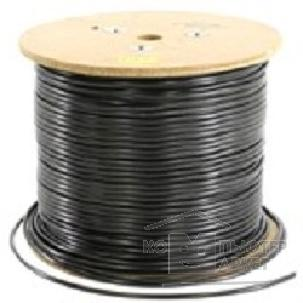 Кабель 5bites Express FS5525-305BE Кабель FTP / SOLID / 5E / 24AWG / 100% COPPER / PVC / BLACK / OUTDOOR / DRUM / 305M