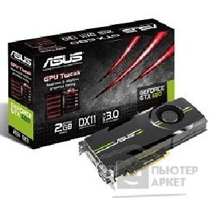 Видеокарта Asus TeK GTX680-2GD5 RTL 2Gb, 6GDDR5, GTX680, Display Port, DVI, HDMI, PCI-E
