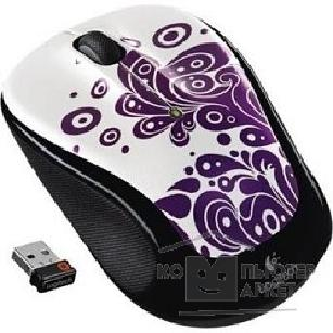 Мышь Logitech 910-003020  Mouse M325 wireless Purple Swirls