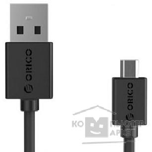 Кабели Orico  CMR2-10-BK Кабель USB2.0 A male to microUSB 2.0 1.0m CMR2-10 черный