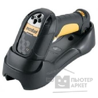 Сканер штрих-кодов Motorola LS3578-ER20005WR 3578 Cordless Scanner, Extended Range, Yellow/ Twilight Black, Quick Start Guide