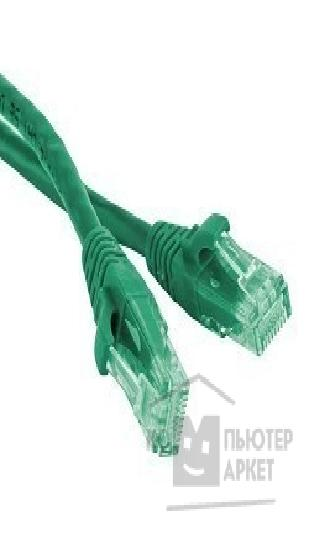 Патч-корд Hyperline PC-LPM-UTP-RJ45-RJ45-C6-1.5M-LSZH-GN Патч-корд U/ UTP, Cat.6, LSZH, 1.5 м, зеленый