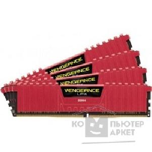 Модуль памяти Corsair  DDR4 DIMM 16GB Kit 4x4Gb CMK16GX4M4A2400C14R