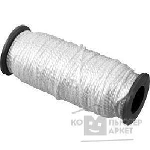 СИБИН Шнур кручёный капроновый, диаметр - 2 мм, длина - 50 м (катушка), 70 кгс [50527]/СИБИН 50527 50527