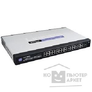 Сетевое оборудование Cisco SB SPS224G4-G5 Коммутатор 24-port 10/ 100 + 4-Port Gigabit SP Switch