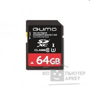 Карта памяти  Qumo SecureDigital 64Gb  QM64GSDXCcL10