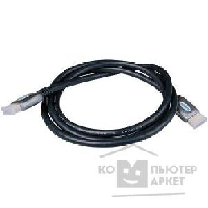 Кабель Defender HDMI-DVI PROFESSIONAL зол. конт., 2фер фил. [HDMI-DVI06-PRO] 1.8м 87436