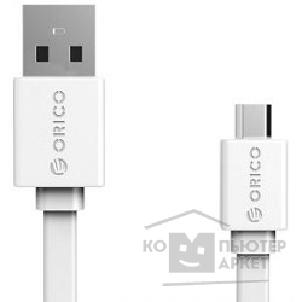 Кабели Orico  CMF2-10-WH Кабель USB2.0 A male to microUSB 2.0 1.0m CMF2-10 белый