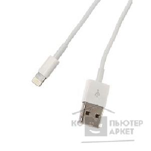 Continent Кабель  USB A - Apple Lighting  DCI-2104WT / OEM