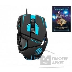 "Mad Catz Мышь  M.M.O.TE Gaming Mouse - Matt Black + бонусный код ""Path of EXILE"" [PCAmc48]"