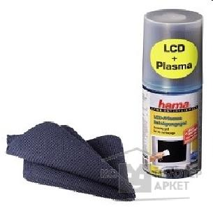 Чистящие средства Hama H-83745 Набор для чистки LCD/ Plasma Screen Cleaning Gel with Cleaning Cloth, 6pcs. in a displ.
